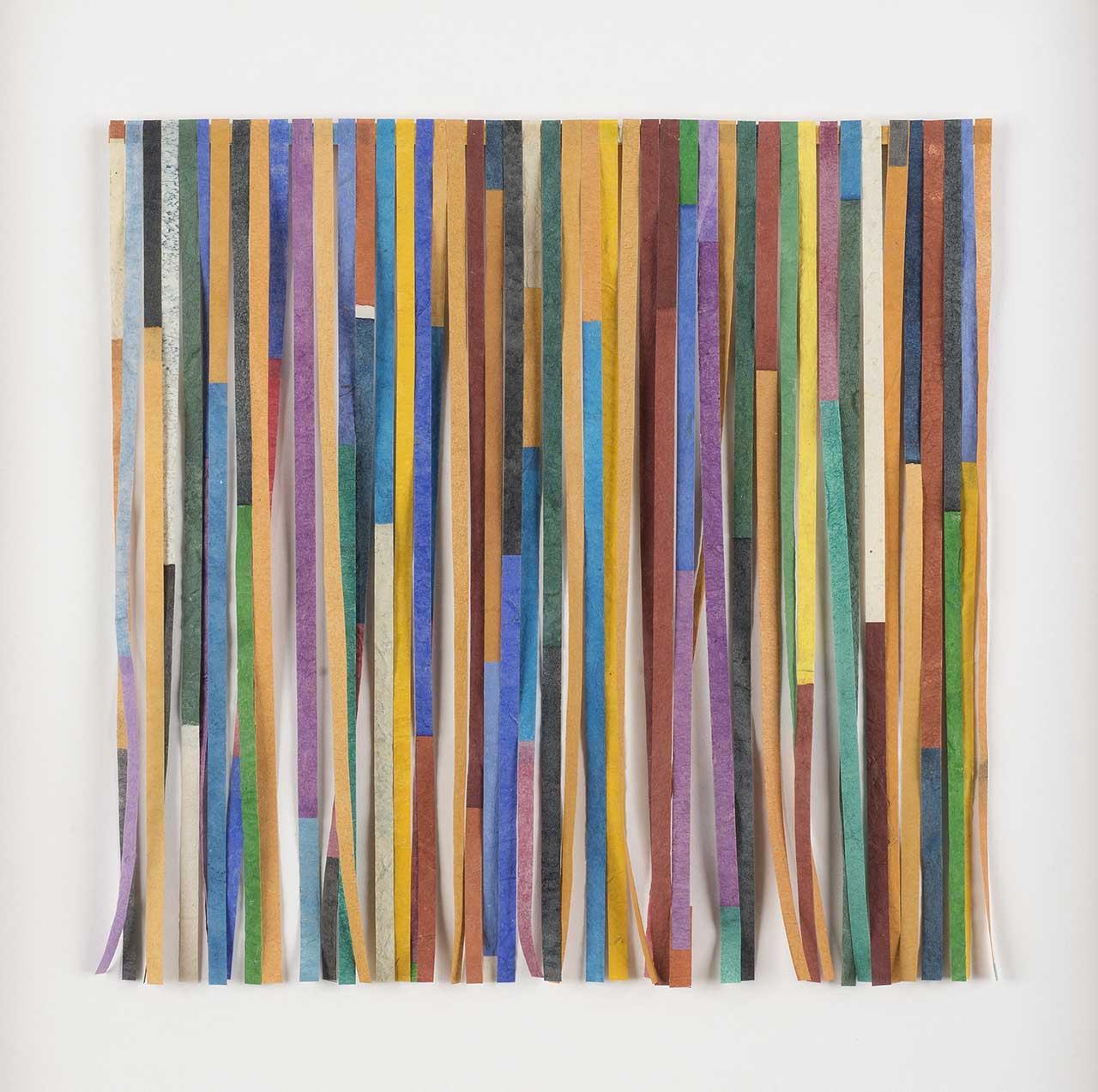 Χωρίς τίτλο (Φαντασμαγορία), 2010, χρωματισμένο κομμένο χαρτί, 24x24 εκ.