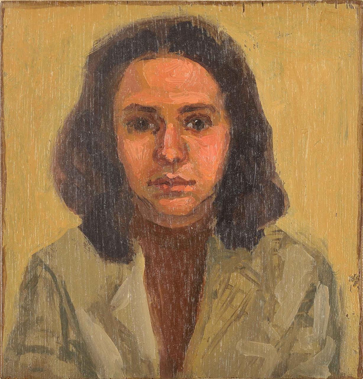 Ένα μικρό πορτραίτο, 1994, λάδι σε ξύλο, 10x9 εκ.