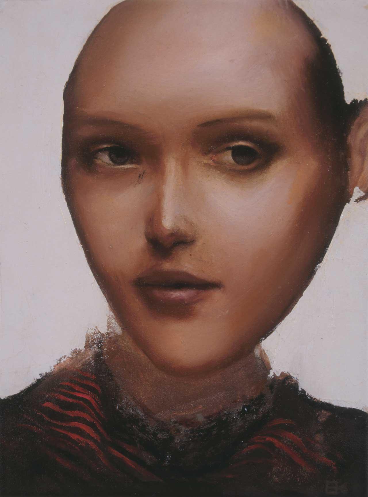 Μοντέλο, 2000, λάδι σε καμβά, 32x24 εκ.