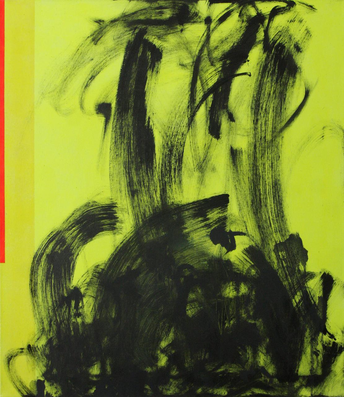 Άτιτλο (Symphonies series III), 2013, λάδι και ακρυλικό σε καμβά, 70Χ60 εκ.
