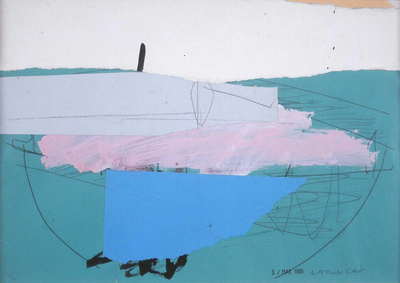 Τοπίο, 1989, μικτή τεχνική, 25x34 εκ.
