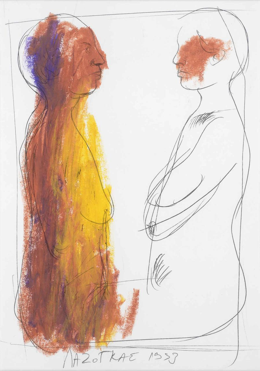Φιγούρες, 1993, σχέδιο, 29x21 εκ.