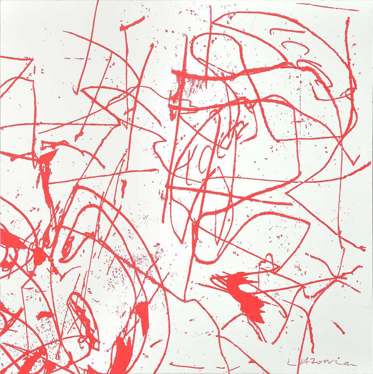 Big Bang, 1992, μεταξοτυπικό λάδι σε καμβά, 70x70 εκ.