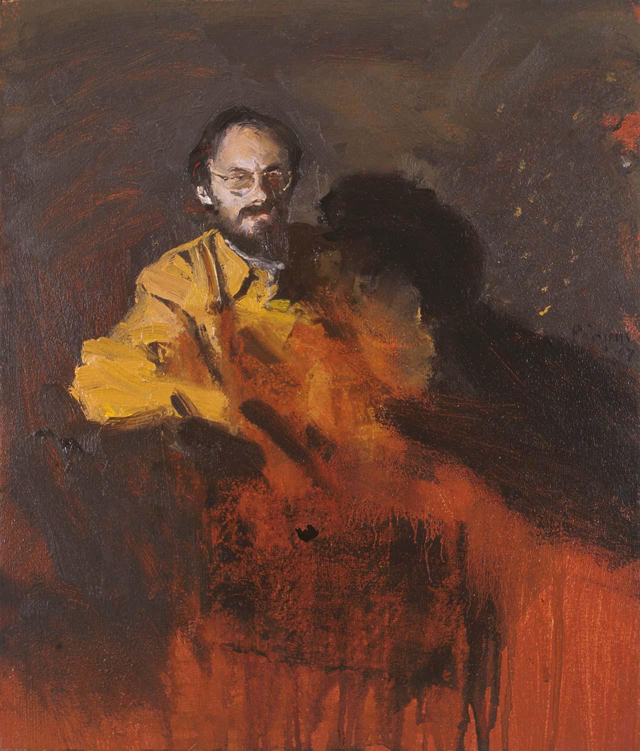 Πορτραίτο άνδρα, 1997, λάδι σε καμβά, 35x30 εκ.