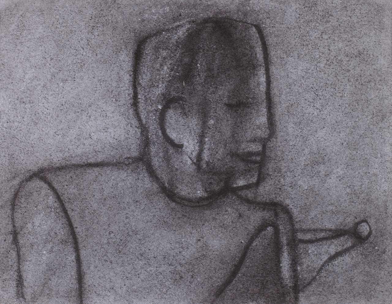 Φιγούρα, 1993, σχέδιο, 37x48 εκ.