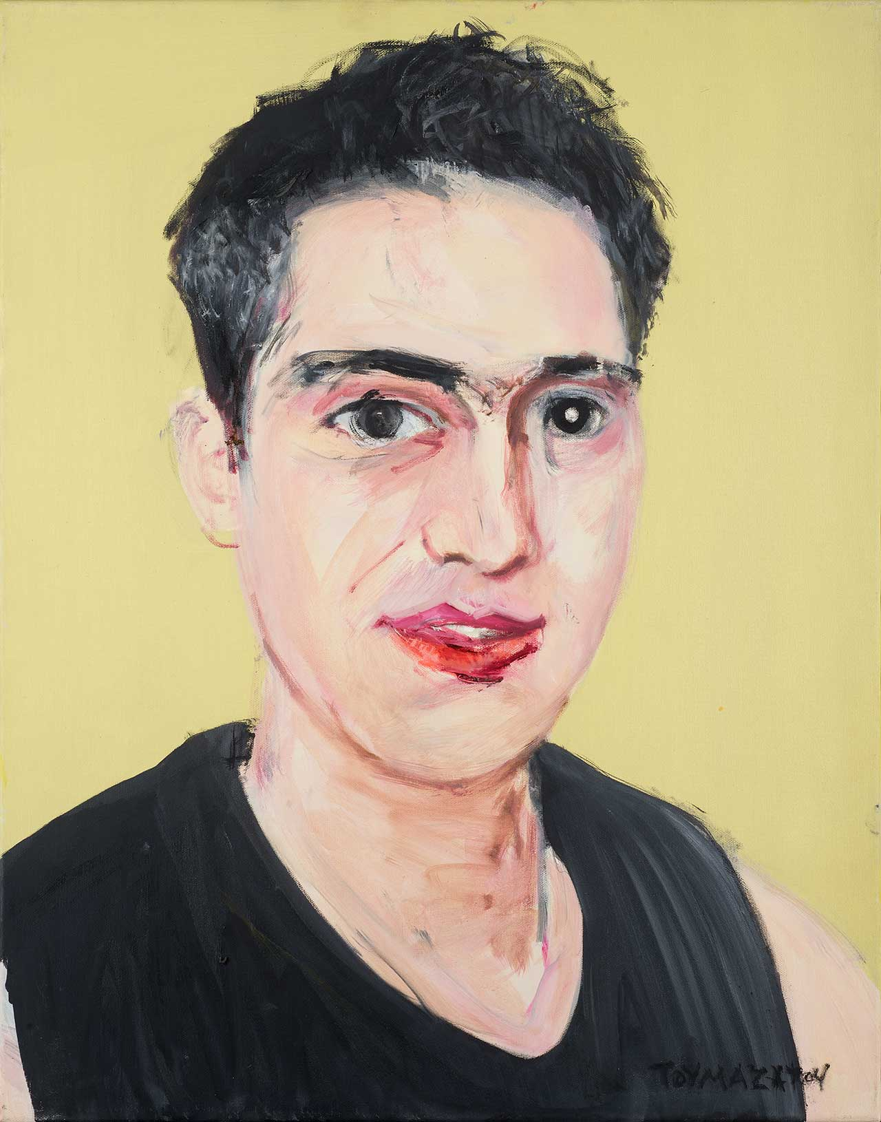 Πορτραίτο, 2008, λάδι σε καμβά, 70x55 εκ.