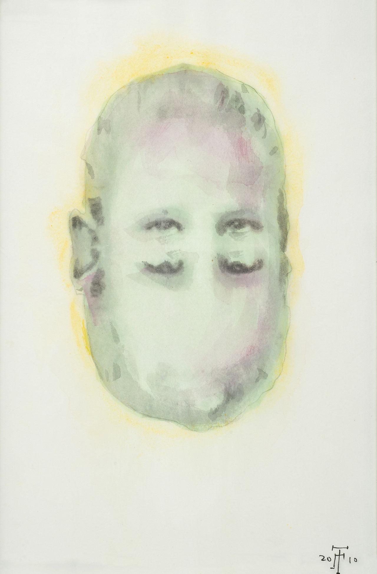 Άτιτλο, 2010, ακουαρέλα Α4
