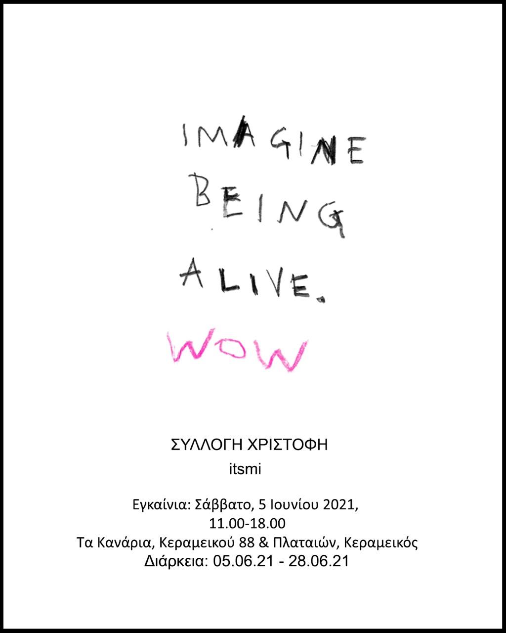 ITSMI: Imagine Being Alive, Wow!,